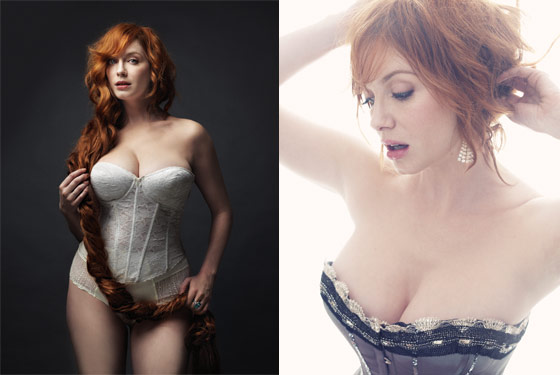 Christina Hendricks on New York Magazine