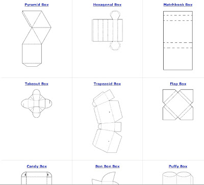 BOX FOLDED FREE PATTERN » Patterns Gallery