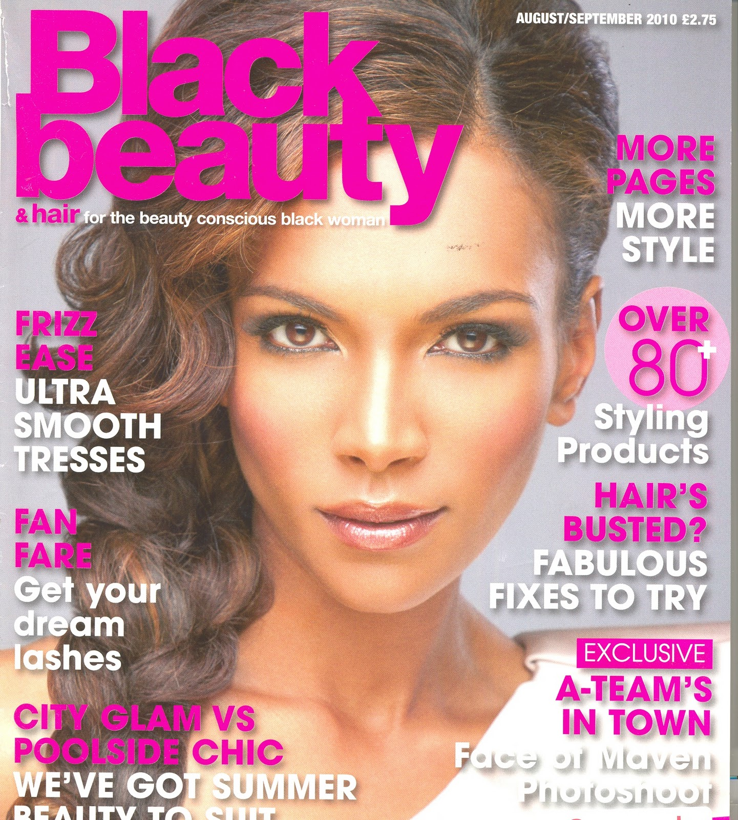 10 Pansy Black Beauty: Ghana Rising: Hair: Vicky Boateng On The Cover Of Black