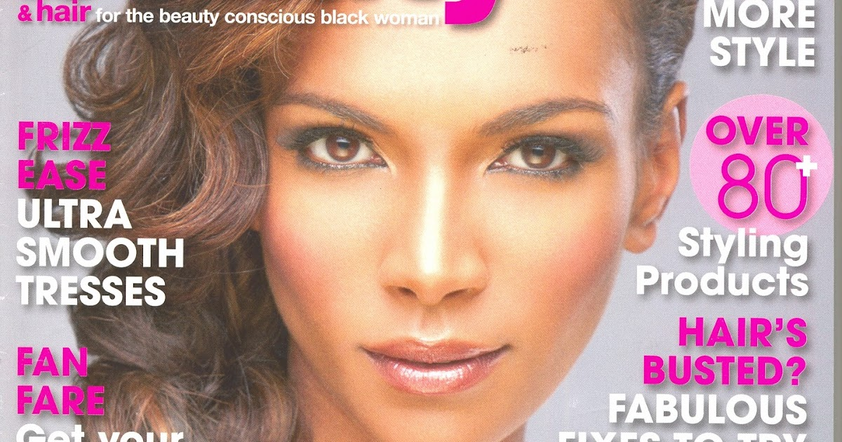 Ghana Rising: Hair: Vicky Boateng On The Cover Of Black