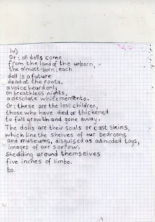 Living in Drawings: 'five poems for dolls' by Margaret Atwood