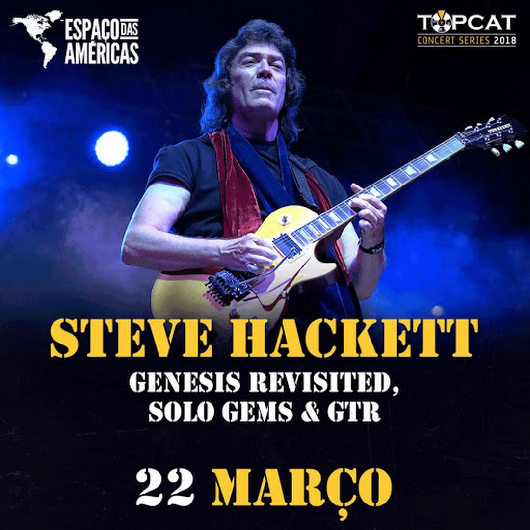 Steve Hackett trará músicas do Genesis para show em São Paulo