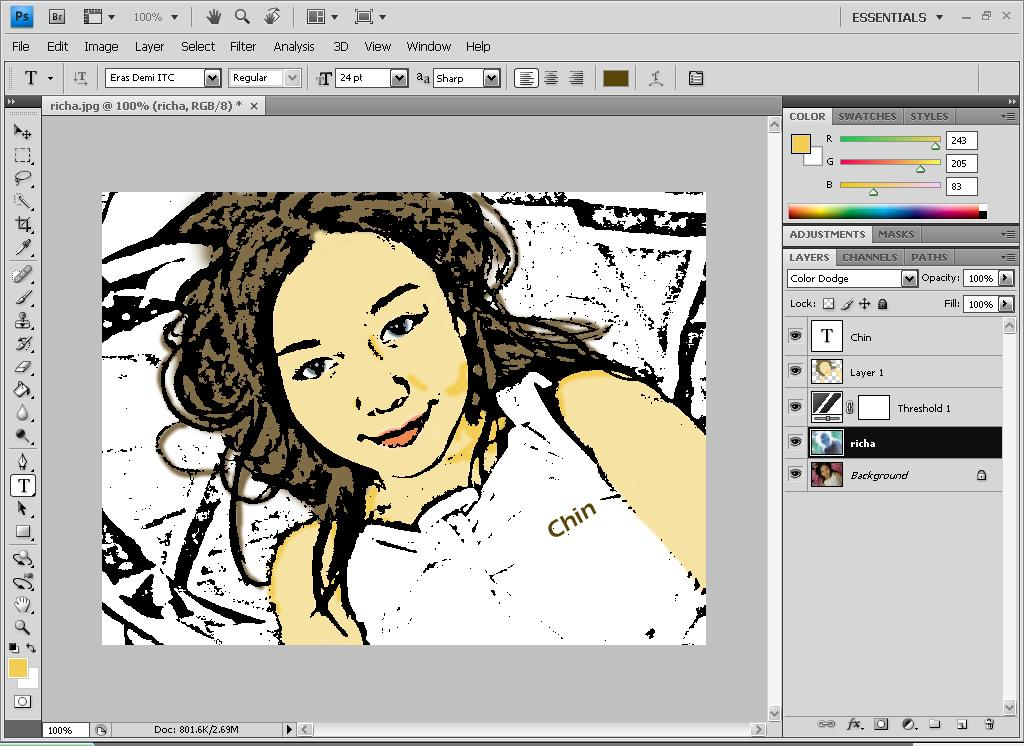How to cartoon a picture in photoshop cs4 pdf