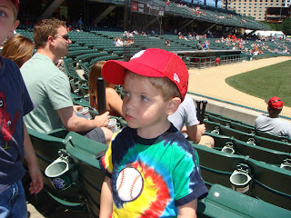 The Settlemoir Family Blog: Indianapolis Indians Game
