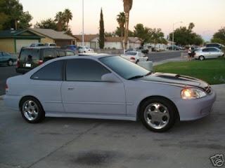honda civic 2d coupe 2001 г.в.
