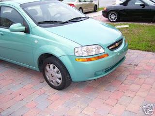 Best Ebay Auction Used Cars 2005 Chevrolet Aveo 4 Door Ebay Auction Used Car