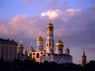 Ivan the Great Bell Tower in Russia