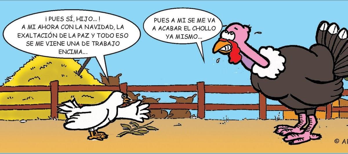Arturo Molero El Pavo De Navidad Y La Paloma De La Paz