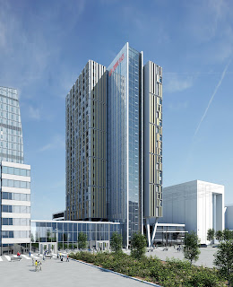Copenhagen Towers - South Tower by Dissing+Weitling. Crowne Plaza Hotel