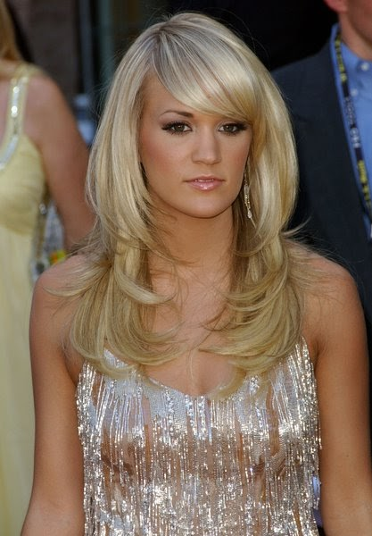 Men Women Hairstyles Carrie Underwood Beautiful
