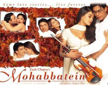 Orkut bollywood Music scrap - Movie : Mohabbatein
