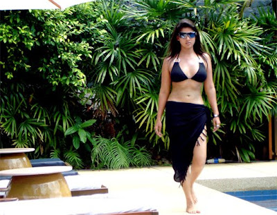 Hot South Indian Sexy Actress Nayanthara in Bikini Still Image Pics