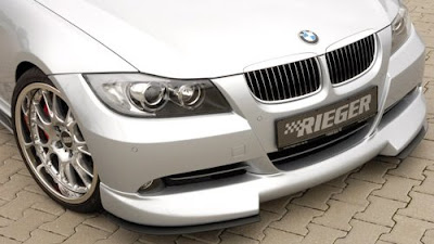 BMW 3 Series Rieger Tuning Front Spoiler E90