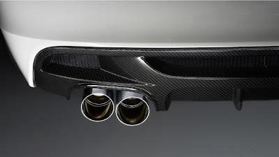 1 Series BMW E82 BMW Performance Rear Bumper