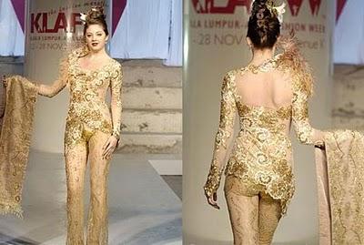 Model Baju Dress Kebaya On Saya Aisya Dan Auz Mimpi Kebaya