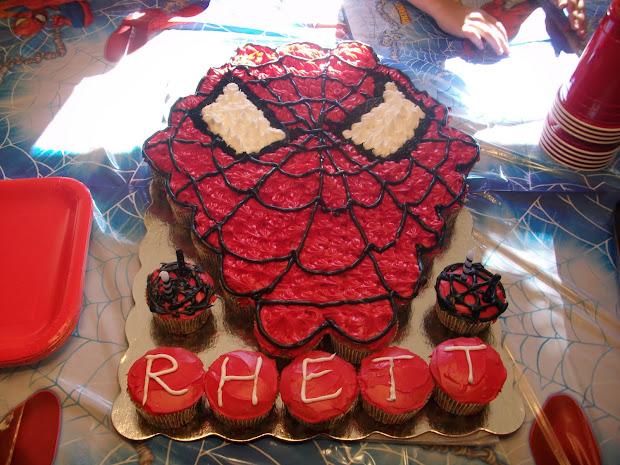 Walmart Spider Man Birthday Cake