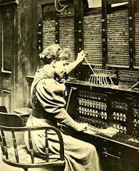 Ένα από τα πρώτα τηλεφωνικά κέντρα
