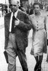 Ο Γιώργος Σεφέρης και η γυναίκα του Μαρώ τον Ιούλιο του 1941 στο Γιοχάνεσμπουργκ
