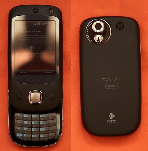 HTC Touch Slide (Fotoğrafların kaynağına ulaşmak için tıklayınız)