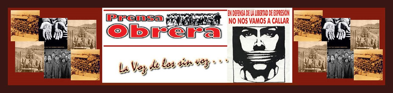 Prensa Obrera en Chile