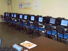 Sala de Tecnologia onde trabalho