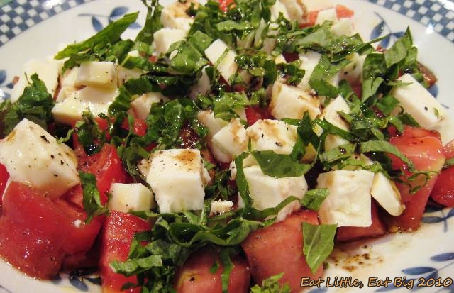 Eat Little Eat Big Recipe For Chopped Caprese Salad