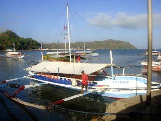 Pump Boat in Guimaras