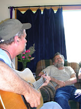 Brother Bill and Tom singing songs