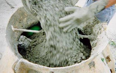 Visita de campo a la unmsm - Como mezclar cemento ...