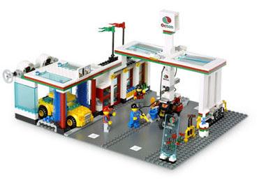 lego toys lego service station. Black Bedroom Furniture Sets. Home Design Ideas