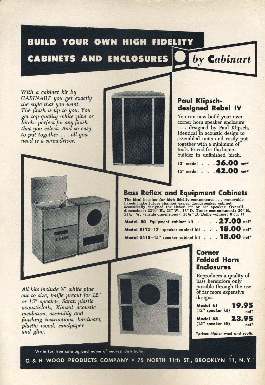 Horn Speaker Kits