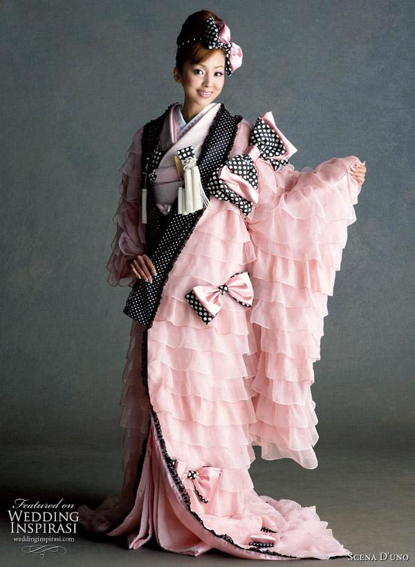 6c1aa07b23e Colorful Japanese Wedding Kimonos 2010/2011