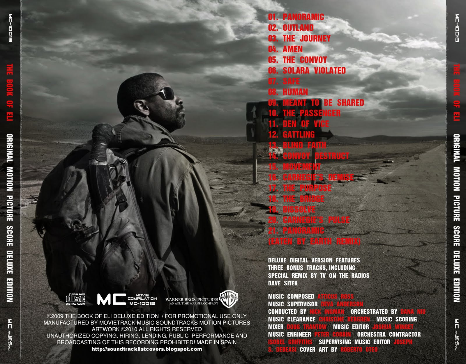 Atticus Ross Book Of Eli Soundtrack