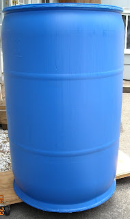 Plain rain barrel