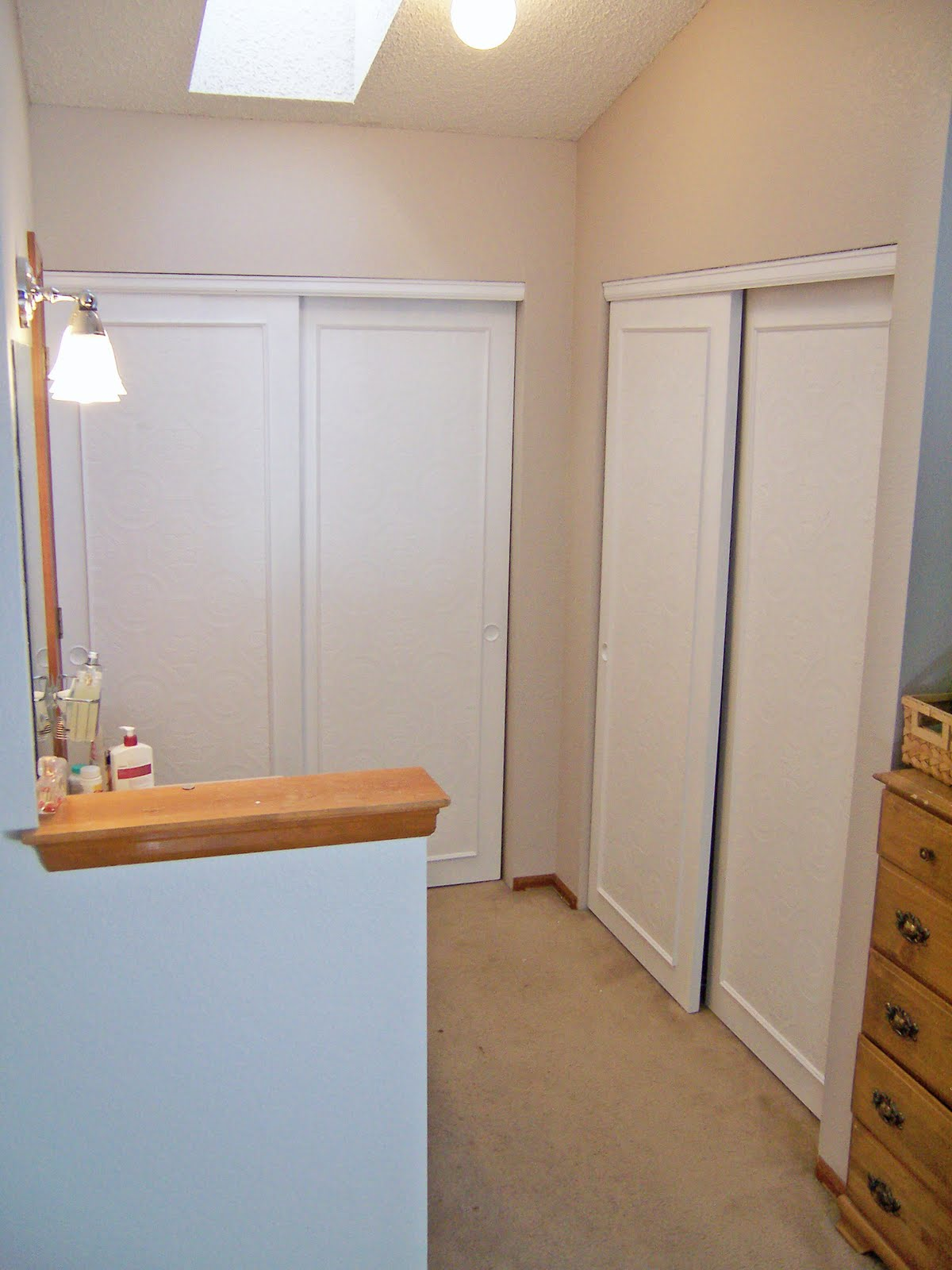 Remodelaholic Frugalicious Closet Door Makeover Monthly Contributor