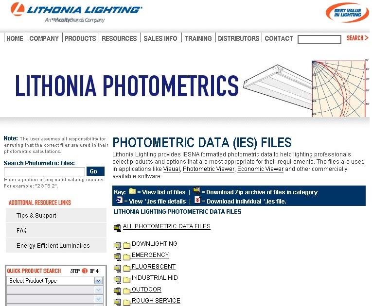 DeArasis: IES Lithonia Lighting free download