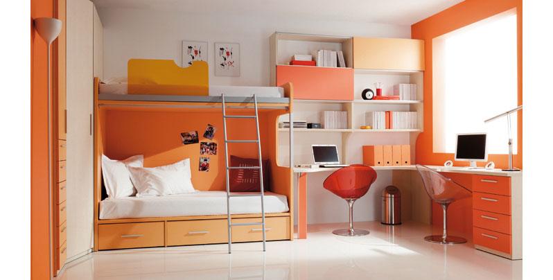 Ubicaci n madrid espa a for Habitaciones para ninas con literas