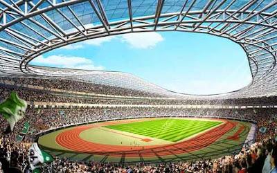роект реконструкции Олимпийского стадиона в Киеве для проведения ЕВРО-2012