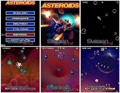 Juego Asteroids