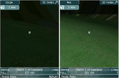 Juego de golf para móviles
