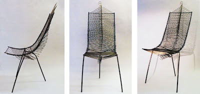 Vanessa Marie Robinson Hanger Chair :  vanessa marie robinson thinkmagazine materials reusable