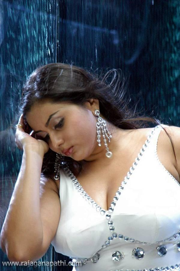 Hot Actress Namitha In White Transparent Dress Wet Pictures Gallery  Gateway To World Cinema