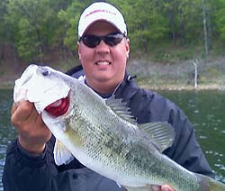 Lake Broken Bow fishing guide Bryce Archey