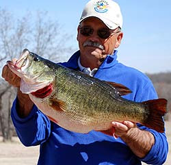 Lake Arbuckles record largemouth bass