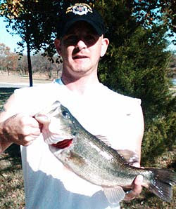 Lake Sahoma bass report
