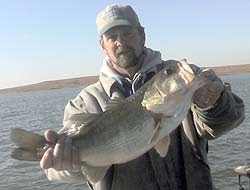 Sooner Lake Oklahoma largemouth bass