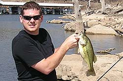 March 2007 for Kaw lake fishing report