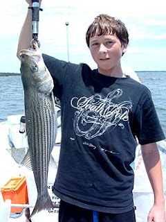 Lake Texoma striper fishing.
