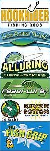 Win free fishing lures, free fishing tackle, free graphite fishing rods and free tackle boxes with OklahomaFishingGuides.com