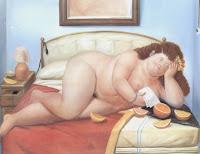 Fernando Botero, La lettera, 1976